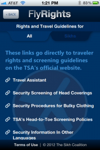 4 flyrights knowyourrights 200x300 - New FlyRights smartphone app allows travelers to file complaints with the TSA on the go
