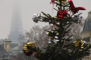 eiffel tower christmas 300x200 - A day in Paris, France - Pantheon & Saint-Germain
