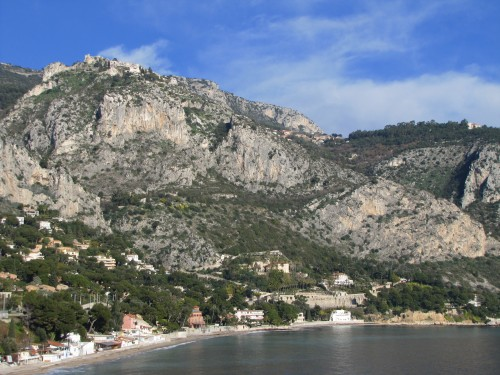 eze village high on the hill above eze sur mer 500x375 - Travel Contest Roundup: July 16, 2014 - French Riviera, Tuscany, Scotland, Barcelona & More