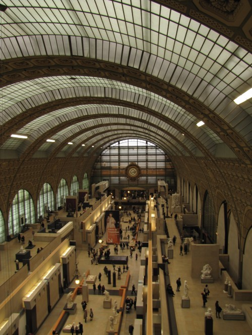 musee d orsay 500x666 - A visit to Montmartre & the Musee d'Orsay in Paris, France