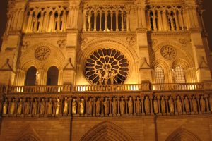 notre dame night 1 300x200 - Travel Contest Roundup: October 15, 2014 - Ireland, Kenya, France, Canada and more