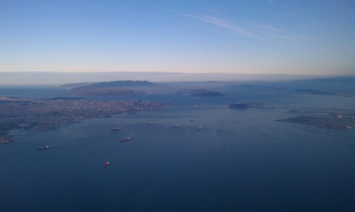 san francisco bay 500x299 - Europe 2013: And so the trip began