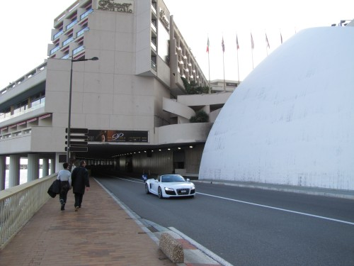 fairmont monte carlo f1 tunnel turn 500x375 - A day trip to Monaco from Nice, France
