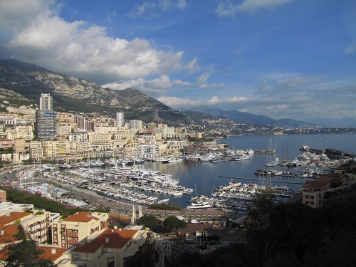 monaco harbor 500x375 - A day trip to Monaco from Nice, France