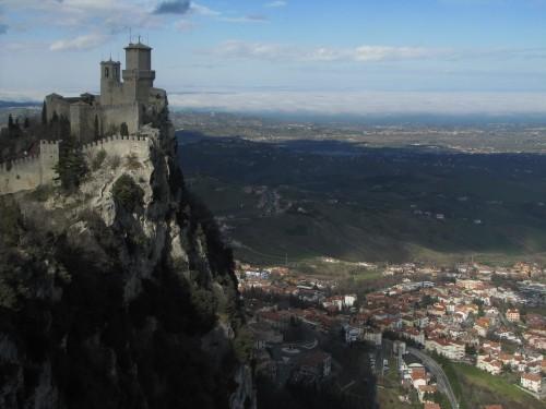 tower city san marino 500x375 - A day trip to San Marino from Rimini, Italy