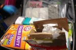 "kitty litter tsa 150x100 - TSA finds lots of ammo & weed ""creatively"" packed in Canadian woman's luggage"