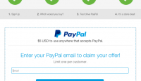 paypal free $5