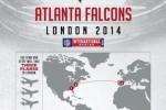 atlanta falcons london wrong map 150x100 - Hopefully the Atlanta Falcons' pilot knows European geography better than they do