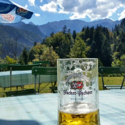 beer garden hiking partnach gorge 500x500 - A visit to Partnach Gorge in Garmisch-Partenkirchen, Germany