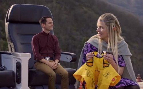 hobbit safety video elijah wood 500x314 - Air New Zealand releases latest Hobbit-themed inflight safety video