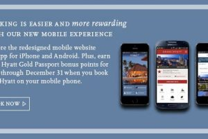 hyatt app free points 300x200 - Get 1,000 Hyatt Points for booking through their app or mobile site