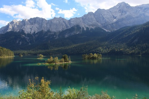 lake eibsee zugspitze 500x333 - A visit to Zugspitze & Lake Eibsee from Garmisch-Partenkirchen, Germany