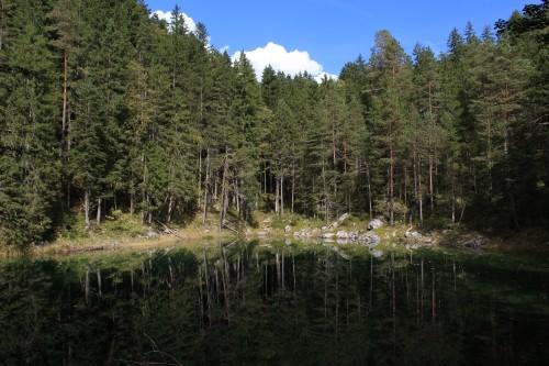 mountain lake trees forest 500x333 - Zugspitze + Lake Eibsee + Garmisch-Partenkirchen: Day 3