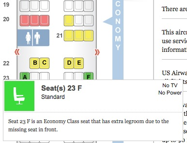 Usairways A321 Best Seat Map