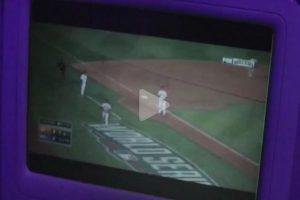 virgin america giants 300x200 - San Francisco Giants fans celebrate World Series win on Virgin America flight - Video