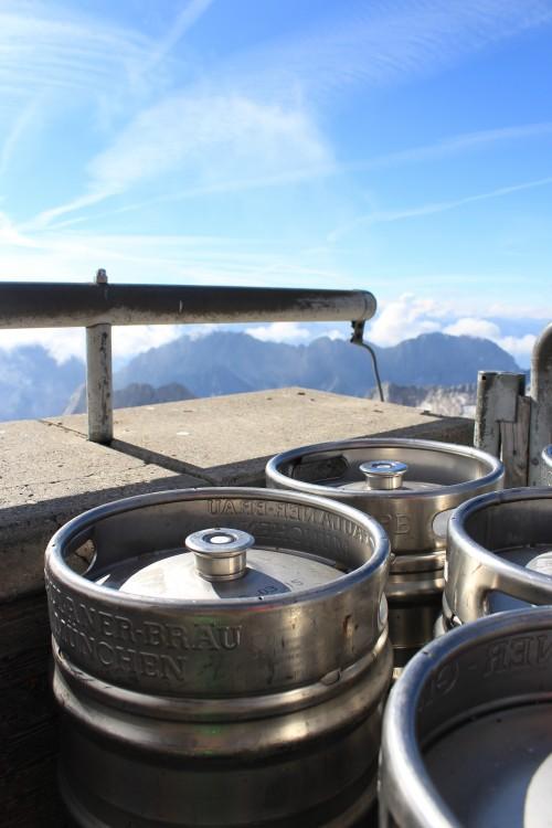 zugspitze beer garden 500x750 - Zugspitze + Lake Eibsee + Garmisch-Partenkirchen: Day 3