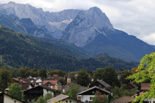 german alps zugspitze 500x333 - Exploring Garmisch-Partenkirchen, Germany + Atlas Grand Hotel review