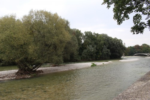 isar river 500x333 - Munich, Germany - Exploring + Oktoberfest: Day 7