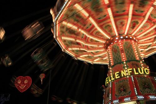 oktoberfest night rides 500x333 - Munich, Germany - Exploring + Oktoberfest