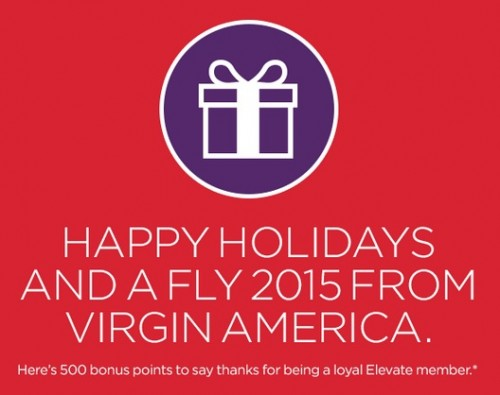 500 free virgin america points 500x395 - 500 free Virgin America Elevate points