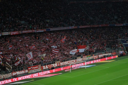 bayern munich fans 500x333 - Attending a Bayern Munich match at Allianz Arena