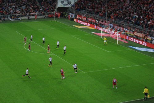 bayern munich team 500x333 - Attending a Bayern Munich match at Allianz Arena