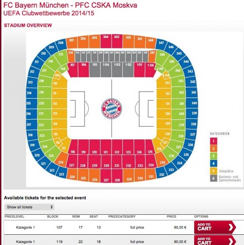 bayern munich ticket sales 500x503 - Attending a Bayern Munich match at Allianz Arena