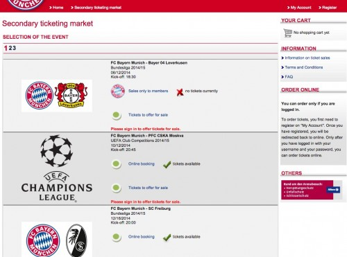 bayern munich tickets 500x371 - Attending a Bayern Munich match at Allianz Arena