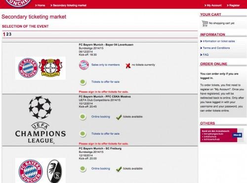 bayern munich tickets 500x371 - Attending a Bayern Munich match at Allianz Arena