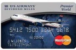 us airways card 300x200 - 50,000 USAirways Miles for you, 5,000 USAirways Miles for me