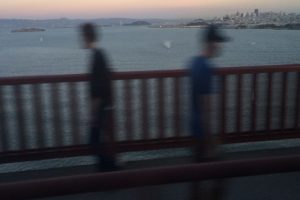 walking golden gate bridge sunset 300x200 - My Top Travel Instagram Photos - November 2014
