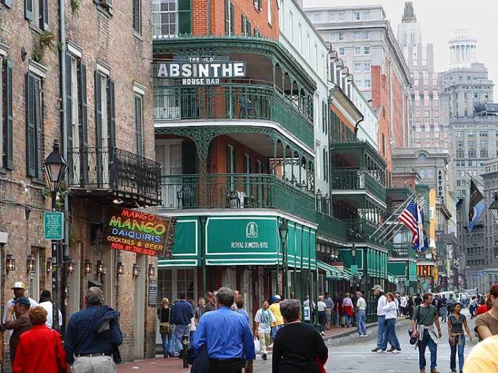 new orleans bourbon street 700x525 - Travel Contests: April 7th, 2021 - New Orleans, Fiji, Costa Rica, & more