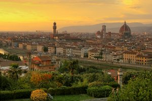 sunset over florence 1 300x200 - Travel Contest Roundup: February 18, 2015 – SXSW, Dominican Republic, Italy & more