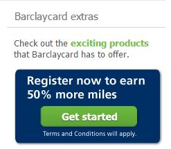usairways mastercard 50percent bonus miles - Earn 50% more miles with the Barclaycard USAirways/American Airlines card