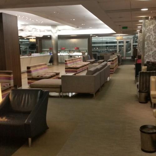 ba club lounge heathrow 500x500 - British Airways South Galleries Club Lounge London Heathrow LHR Review: Around The World
