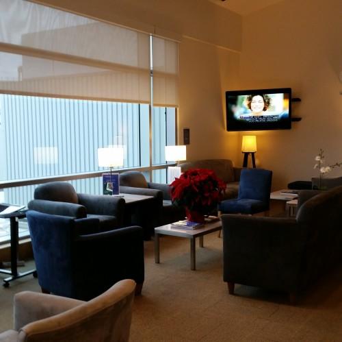 ba first class lounge sfo 500x499 - British Airways First Class & Business Class Terraces Lounge San Francisco SFO Review