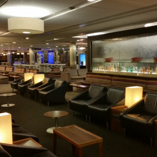 ba galleries lounge heathrow 500x500 - British Airways South Galleries Club Lounge London Heathrow LHR Review: Around The World