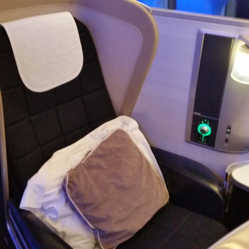 british airways first class seat 500x500 - British Airways First Class 747-400 San Francisco SFO to London Heathrow LHR Review
