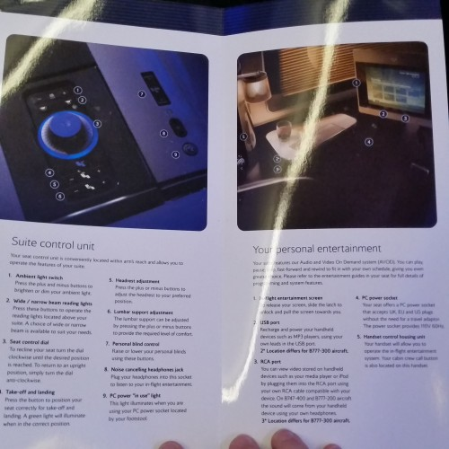 british airways first class suite manual 500x500 - British Airways First Class 747-400 San Francisco SFO to London Heathrow LHR Review