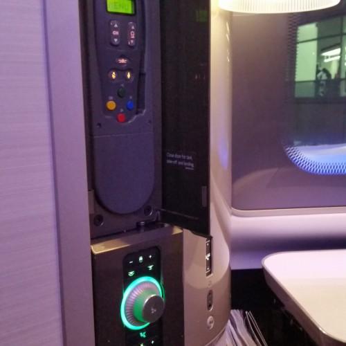 british airways first class suite remote 500x500 - British Airways First Class 747-400 San Francisco SFO to London Heathrow LHR Review