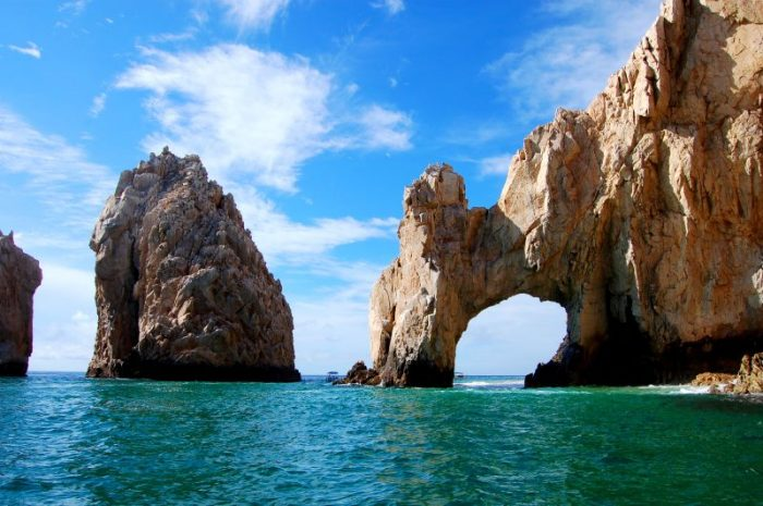 cabo san lucas rocks 700x465 - Travel Contests: September 25, 2019 - Cabo, NYC, Sonoma, & more