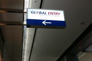 global entry sign 300x200 - Global Entry application, interview, & review