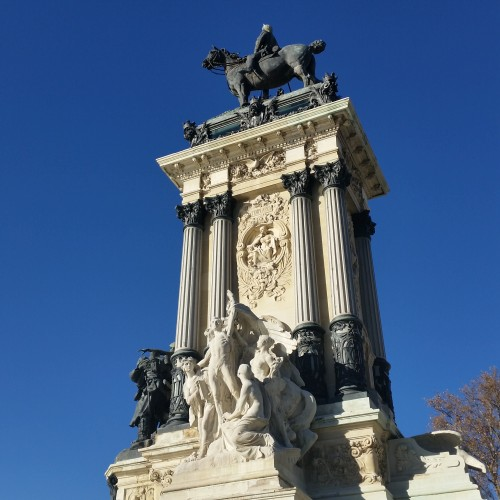 monument king alfonso xii 500x500 - A day exploring Madrid, Spain: Around The World