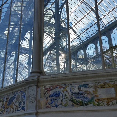 palacio de cristal 500x500 - What to do on a layover in Madrid, Spain