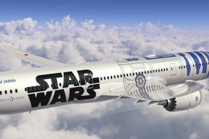 r2 d2 plane ana 787 300x200 - ANA introduces R2-D2 Star Wars-themed plane