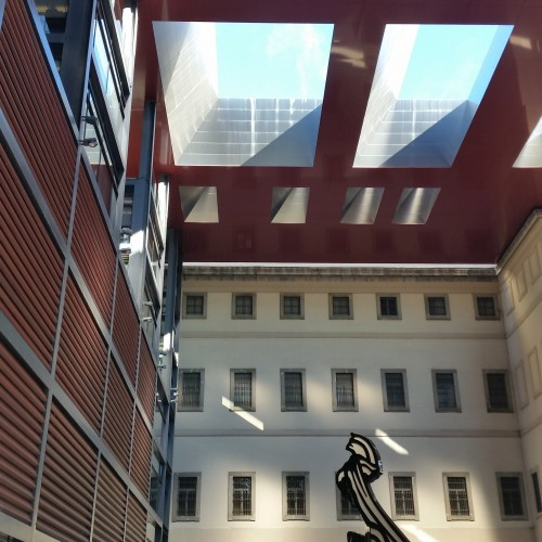 reina sofia madrid atrium 500x500 - What to do on a layover in Madrid, Spain