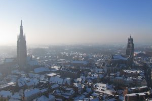 snowy bruges in winter 300x200 - A day in Bruges, Belgium