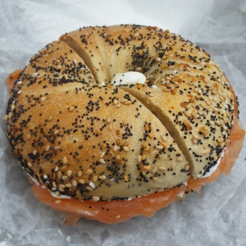 absolute bagels 500x500 - One busy day in New York City: Bronx Brewery, Yankees, Last Week Tonight & more