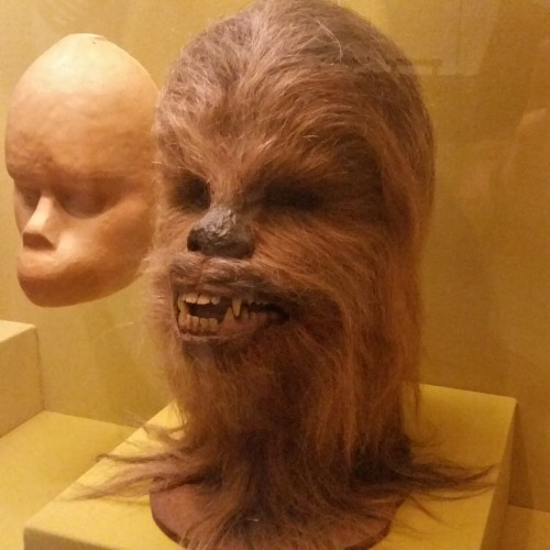 chewbacca mask museum 500x500 - A visit to the Museum of the Moving Image in Astoria, Queens, New York