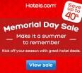 hotels.com coupon code memorial day